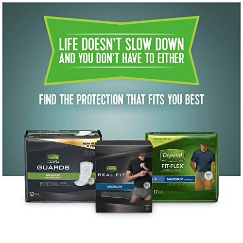 Depend Incontinence Shields for Men, Light Absorbency, (Packaging May Vary) by Depend (Image #10)