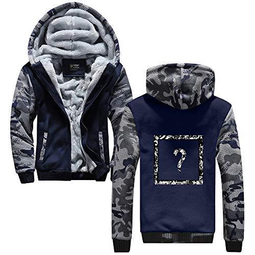 Homme D'hiver Cosplay Zip Blue12 Vêtements Hoodie Épaissir Anime Unisexe Capuche Xxxtentacion Logo Veste Up qnx4wXfB