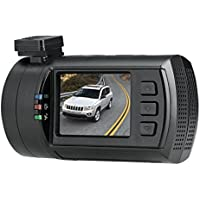 ChiTronic New Upgrade Mini 0806 Pro Super HD 1296P Car Dash Camera Blackbox Video Recorder with Latest Ambarella A7LA50 Processor + OV4689 Sensor + 256GB(2X 128GB) Max Capacity Support + FCWS&LDWS Security,with GPS Logger