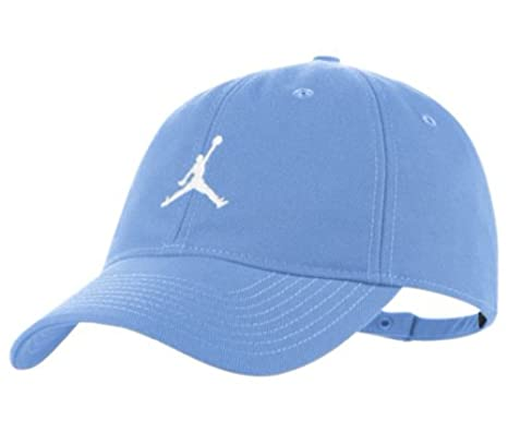 dc8dd5a5208 Amazon.com  NIKE Jordan Jumpman H86 Adjustable Hat - Men s - Light Blue   Sports   Outdoors