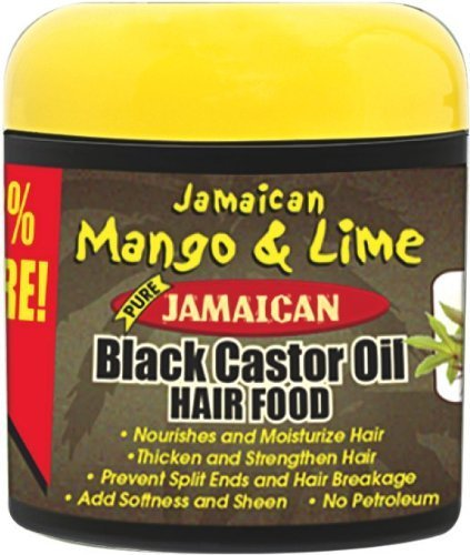 Jamaican Mango & Lime Black Castor Oil Hair Food 6 Oz. by Rasta Locks & Twist