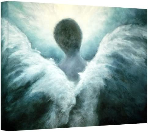 Art Wall Ascending Angel Gallery Wrapped Canvas Art