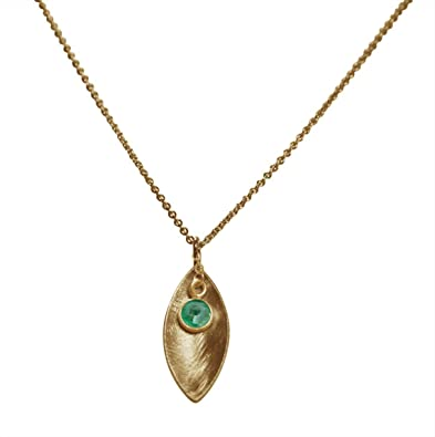 Smaragd Armband Damen Vergoldet CANDY Gemshine Grün