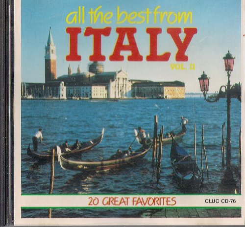 All the Best from ITALY Vol. 2 20 Great Favorites (All The Best From Italy)