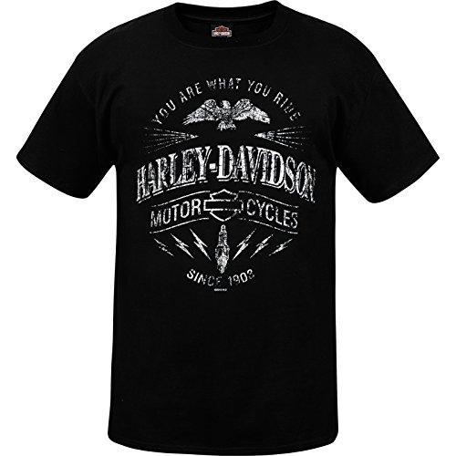 Price comparison product image Harley-Davidson Military Men's Lightweight Pocket Tee - NAS Sigonella / Ride Spark MD