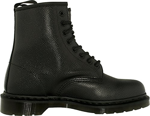 Dr.Martens Womens 1460 8 Eyelet Pebble Leather Boots Black