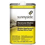 SUNNYSIDE CORPORATION 83432 1-Quart Denatured Alcohol Solvent