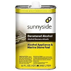 Sunnyside Denatured Alcohol, Quart, 8343...