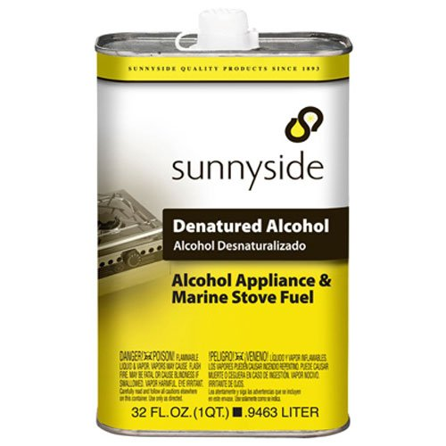 SUNNYSIDE CORPORATION 83432 1-Quart  Denatured Alcohol Solvent -