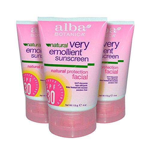 Facial Sunscreen SPF30 4 oz. (Set of 3) …