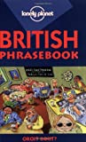Front cover for the book British Phrasebook by Elizabeth Bartsch-Parker