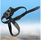 MD Group Rock Foot Buckle Strap Outdoor Safety Rock Climbing Ascender Mountaineering Equipment