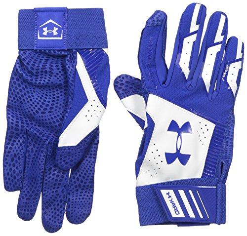 (Under Armour Men's Yard Baseball Gloves, Royal (400)/Royal, Medium)