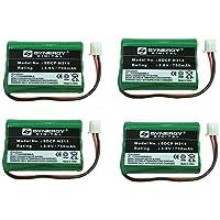 CETIS 9600 Cordless Phone Battery Combo-Pack includes: 4 x BATT-9600 Batteries