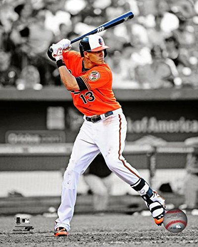 Baltimore Orioles Manny Machado At The Plate. 8x10 Photo Picture ()
