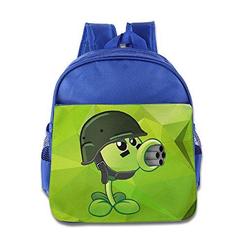 Price comparison product image Children Plants Vs Zombies Pea School Bag (2 Color:Pink Blue)