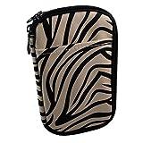 Medport Diabetic Insulated Travel Case (Zebra Print)