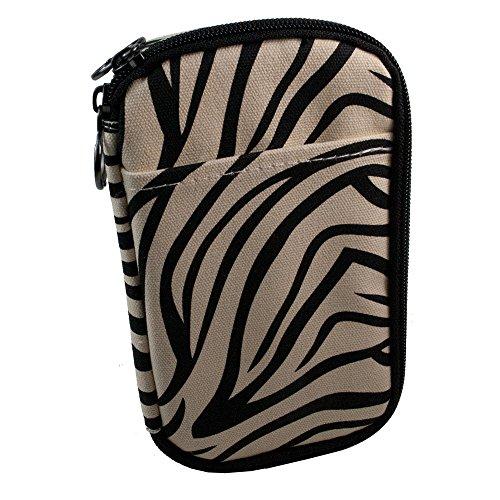 Medport Diabetic Insulated Travel Case (Zebra Print) ()
