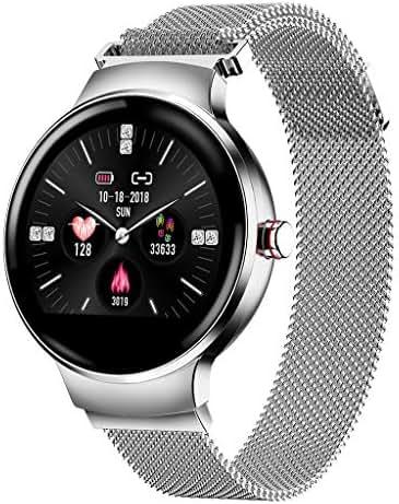 FEDULK Smart Wristwatch Heart Rate Blood Pressure Monitor Pedometer Bluetooth 4.0 Sports Smart Watch(Silver)