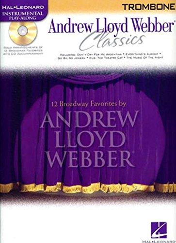 Andrew Lloyd Webber Classics - Trombone: Trombone Play-Along Book/CD Pack ebook