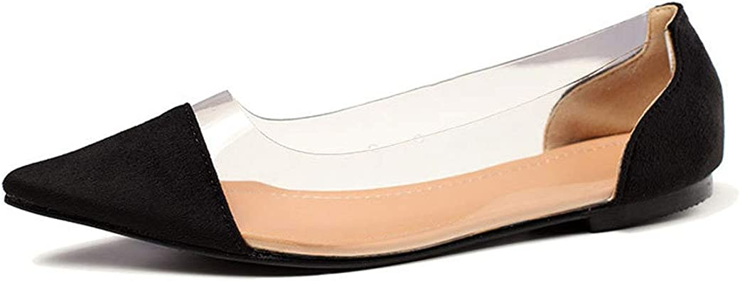 Orangetime PVC Pointed Toe Shoes Women