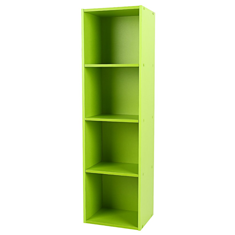 Amazon Shelving Bookcase3 4 Tier Wooden Bookcase Stand Cube