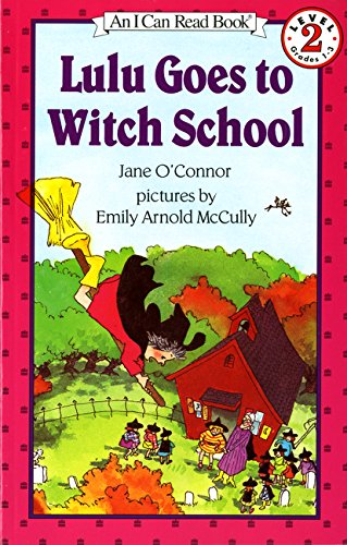 Lulu Goes to Witch School (I Can Read Level (Panda Express Halloween Deals)