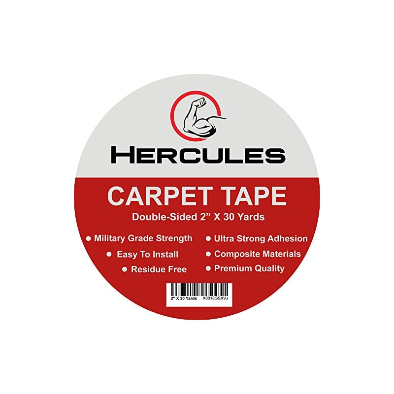 Hercules Double Sided Carpet Tape, Heavy