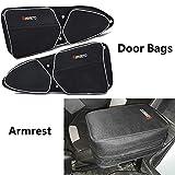 KEMIMOTO Door Bags N Armrest for Polaris RZR XP/XP4 1000 /Turbo / 900XC S900