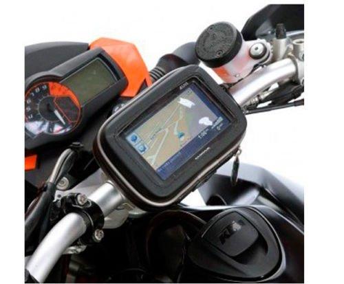 "Bike Bicycle Motorcycle Waterproof Case & Mount For 5"" GPS"