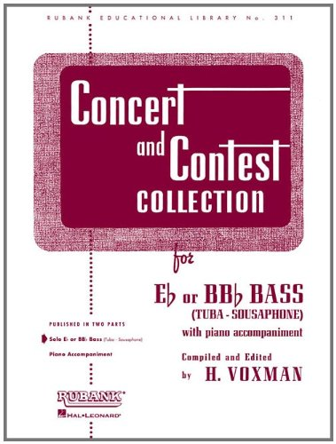 Concert and Contest Collection: Eb or BBb Bass (Tuba) - Solo Part (Rubank Educational Library)