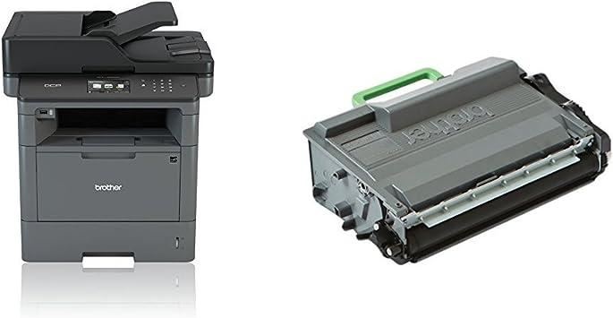 Brother DCP-L5500DN - Impresora multifunción láser monocromo (250 ...