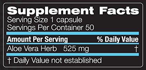 Unicity Aloe Vera Gastrointestinal Support 50 Capsules