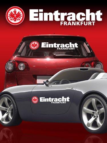 Auto Heckscheiben Aufkleber Eintracht Frankfurt Amazonde