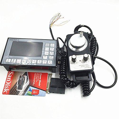 CNC Offline Controller 4 Axis +Handwheel 500Khz G Code
