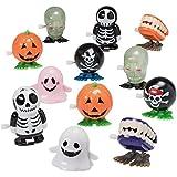 Prextex Halloween Goody Bag Wind Up Toys 12 Pack .Halloween Toy Assortment Goody Bag Filler
