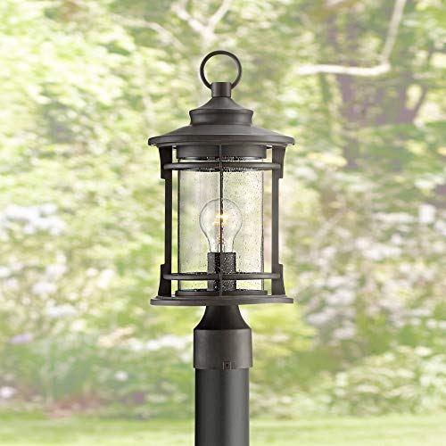 Grenville Outdoor Post Light Fixture Bronze Lantern 17 1/2