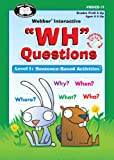 """""""WH"""" Questions Software Program - Level 1: Sentence-Based Activities - Super Duper Educational Learning Toy for Kids"""
