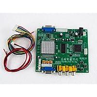 Paddsun US New for Video Converter CGA/EGA/YUV/RGB TO VGA HD Video Converter Board 1 VGA Output Arcade Jamma Game Monitor to LCD GBS-8200