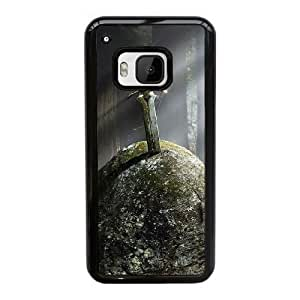 HTC One M9 Cell Phone Case Black Fantasy Ancient sword in the stone YT3RN2515361