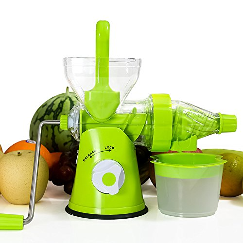Slow Juicer Bahrain : Lengthened handle Multi-Function Manual Hand Single Auger Fruits Cold Press Slow Juicer with ...