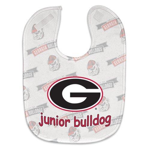 NCAA College Full Color Mesh Baby Bibs (Georgia (Georgia Bib)