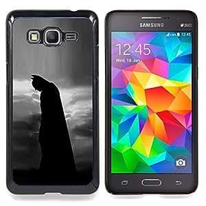 Stuss Case / Funda Carcasa protectora - Hombre Noche Negro Película Personaje - Samsung Galaxy Grand Prime G530H/DS