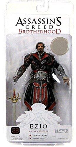 Assassins Creed 7-inch Brotherhood Ezio Unhooded Figure (ebony)