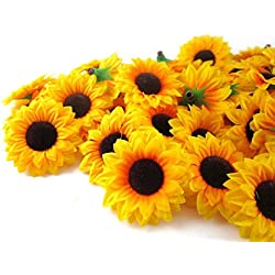 Beautiful Artificial Sunflowers For Embellishing Parties,
