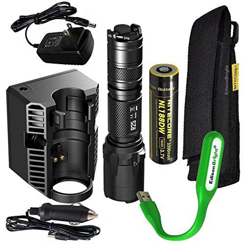 Nitecore rechargeable flashlight charging EdisonBright product image