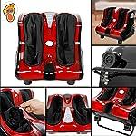 SUPER DEAL Electric Foot Calf Leg Massager Shiatsu Kneading Rolling Massager Relaxation Vibrating