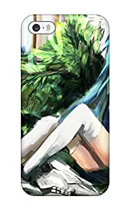 Rosemary M. Carollo's Shop original animal dog haik thighhighs Anime Pop Culture Hard Plastic iPhone 5/5s cases