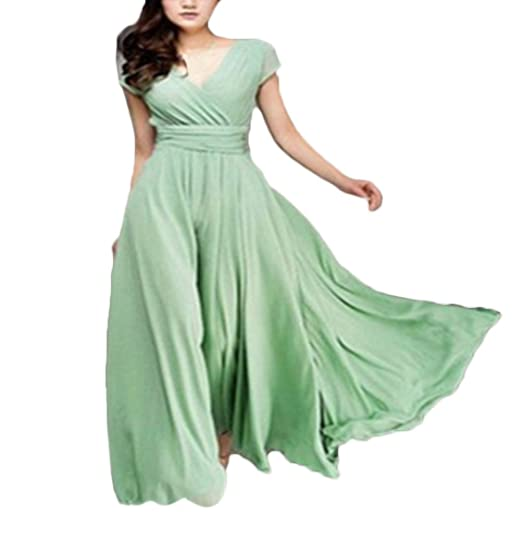 Vestidos De Fiesta Verano Mujer Elegante Fashion Manga Corta V Cuello Vestido Dresses Fiesta Disfraz Largo
