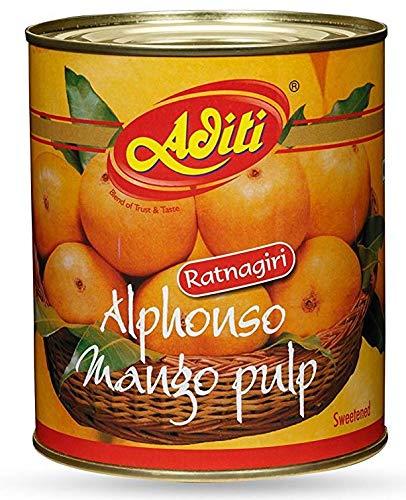 Aditi Alphonso Mango Pulp, 850 g